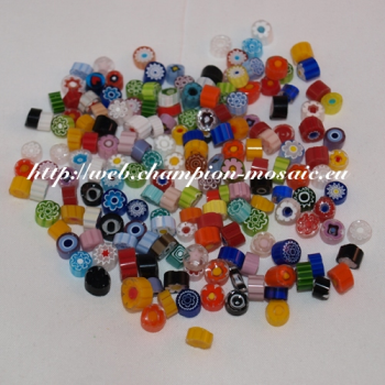 Millifiori n° 7 Mix Transparent 8-10 mm, par 50g