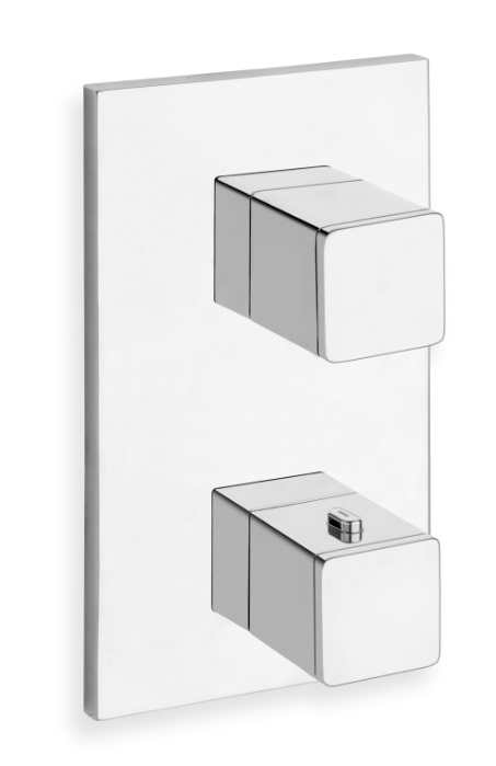 Quadri - Façade Thermostatique - 2 sorties - XQ 852