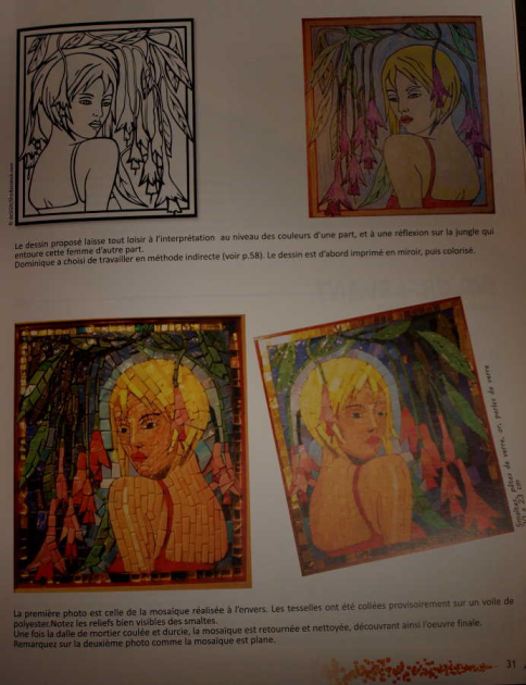 Livre 101 Dessins Interprétés en Mosaique + CD inclus